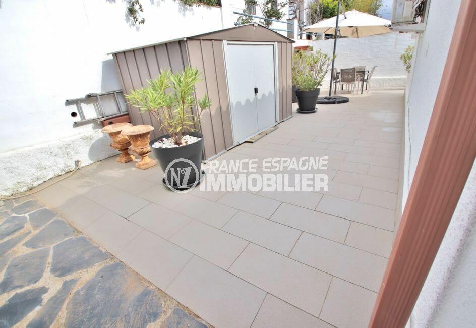 immo roses: villa 76 m² avec piscine, abris de jardin