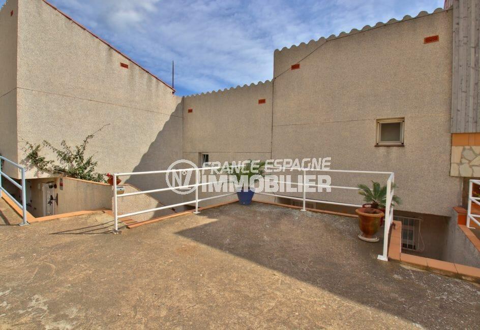 vente immobilier costa brava: villa 4 pièces 100 m², terrasse solarium 19 m² vue mer