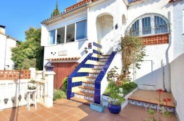maison a vendre espagne, secteur prisé, garage, plage 800 m, 84 m² avec terrasse solarium