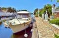 maison a vendre espagne, 208 m² avec amarre, terrain de 747 m², piscine, garage et parking, proche plage