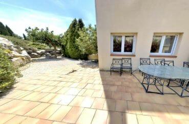 appartement a vendre costa brava, 5 pièces 136 m², jardin privé 208 m²