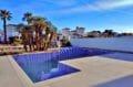 maison a vendre empuria brava, villa 200 m² avc amarre, piscine et douche extérieure