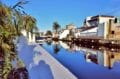 maison empuriabrava, villa 200 m² avec amarre, vue canal, emplacement 12,5 m