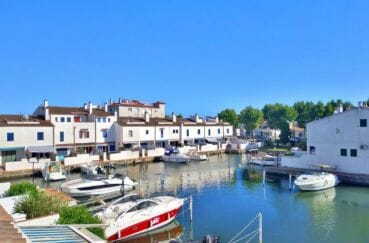 acheter maison empuriabrava: 132 m² avec amarre, 2 terrasses avec vue sur le canal