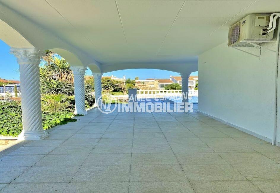 empuriabrava immo: villa 4 pièces 128 m², belle terrasse couverte de 20 m²