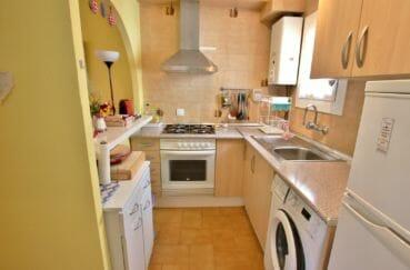 agence immobilière costa brava: villa 74 m² avec 2 chambres, cuisine américaine aménagée