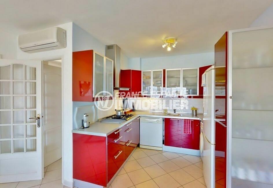 achat villa costa brava, 4 pièces 119 m², cuisine américaine moderne, aménagée et équipée