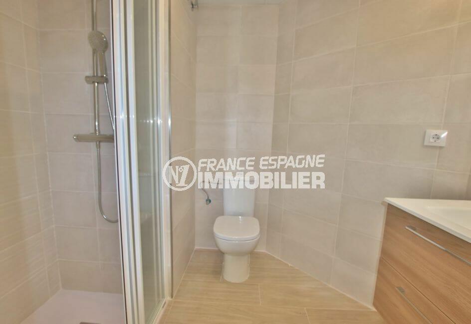 acheter appartement costa brava, de 72, 83 ou 93 m² avec salle d'eau, douche et wc