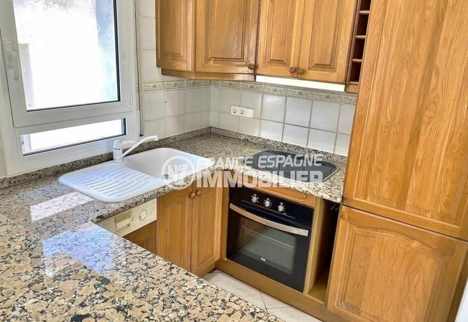 maison à vendre empuriabrava, 4 pièces 128 m², cuisine américaine avec four et plaques