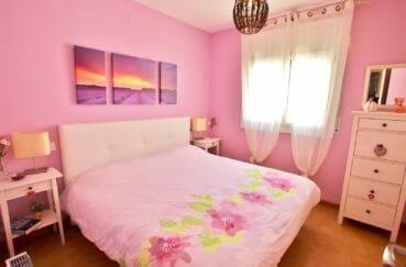 vente maison rosas espagne, 74 m² avec 2 chambres, 2° chambre, lit double
