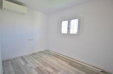 appartement rosas à vendre, 3° chambre à coucher avec climatisation