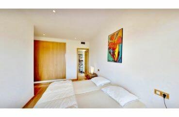 vente appartement costa brava, 5 pièces 136 m², chambre à coucher, lit double, armoire penderie