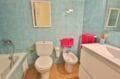 agence rosas: villa 74 m² avec 2 chambres, salle de bain avec baignoire et wc
