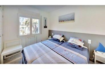 vente immobilier costa brava: villa 5 pièces 122 m², 3° chambre lumineuse, lit double
