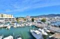 vente appartement rosas, 2 pièces 48 m², terrasse de 12 m² vue marina, piscine communautaire, proche plage