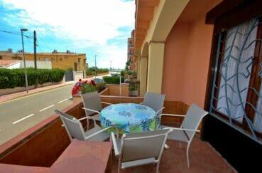 appartement à vendre costa brava vue mer, 2 pièces 41 m² avec terrasse, petite vue mer, possibilité piscine en commun, plage 100 m