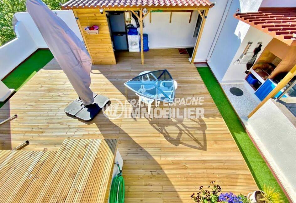 appartement empuriabrava, 3 pièces 86 m², terrasse solarium de 76 m²