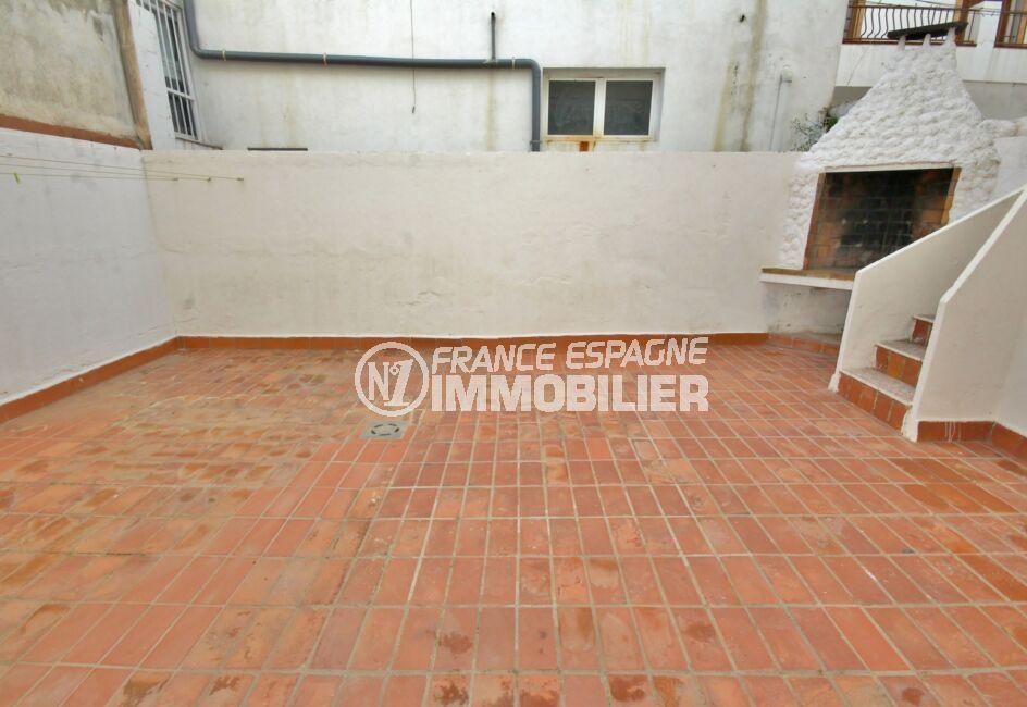 appartement costa brava, 3 pièces 66 m² avec terrasse de 43 m² et barbecue
