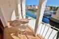empuriabrava immo: appartement 2 pièces 37 m² avec terrasse couverte , table et chaises