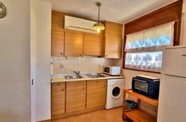 acheter appartement costa brava, 2 pièces 51 m², cuisine équipée de plaques, four, hotte