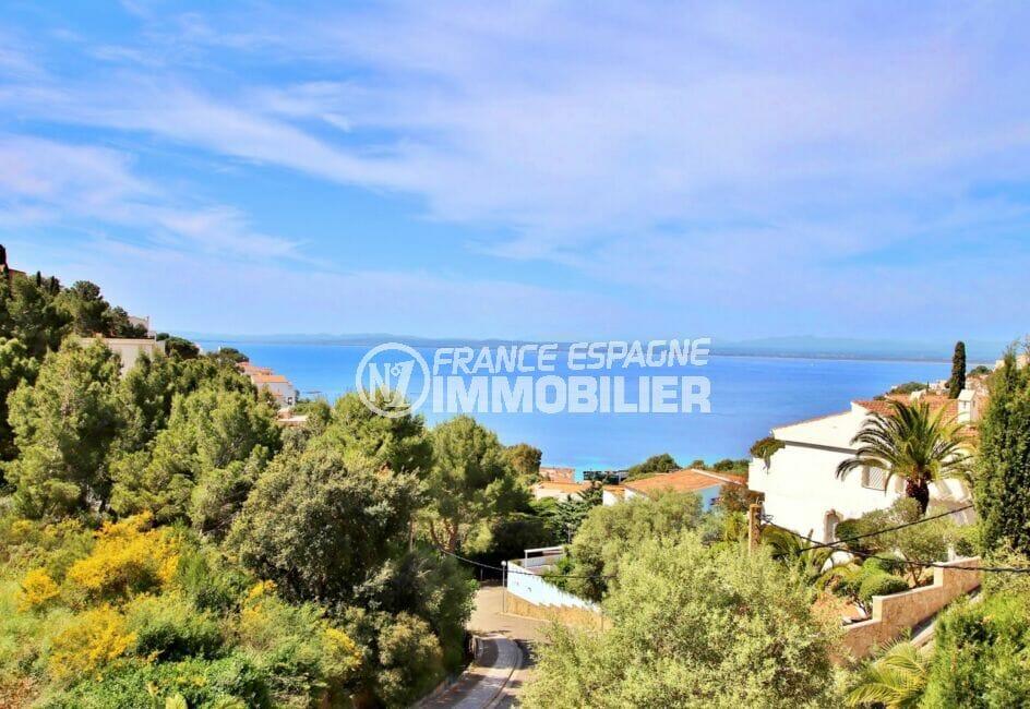 maison à vendre à roses: 300 m² avec terrasse, belle vue sur la mer