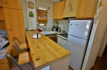 agence immobilière costa brava: appartement  2 pièces 41 m², cuisine aménagée et équipée
