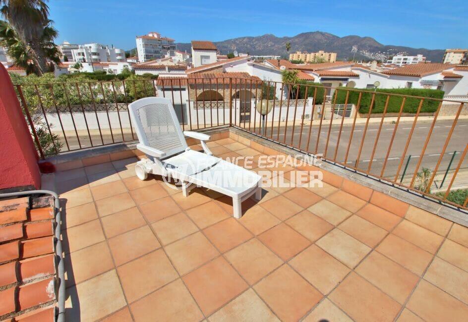 immo roses: villa 109 m², grande terrasse, secteur agréable