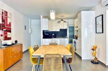 appartement a vendre costa brava, 3 pièces 86 m², cuisine américaine, plafonnier