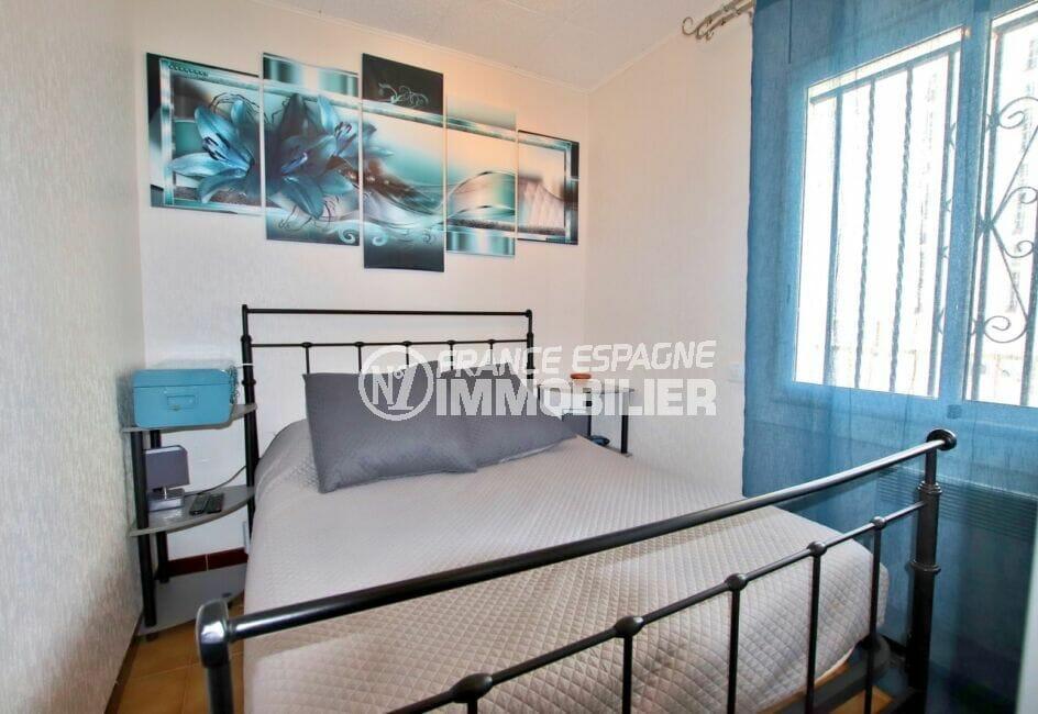 appartements a vendre a rosas, 2 pièces 40 m², chambre à coucher avec lit double