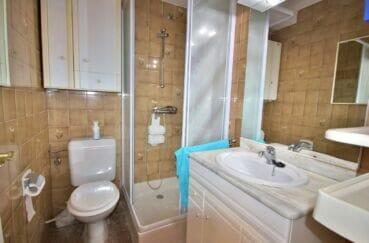 vente immobiliere costa brava: appartement  2 pièces 41 m², salle d'eau avec douche et wc