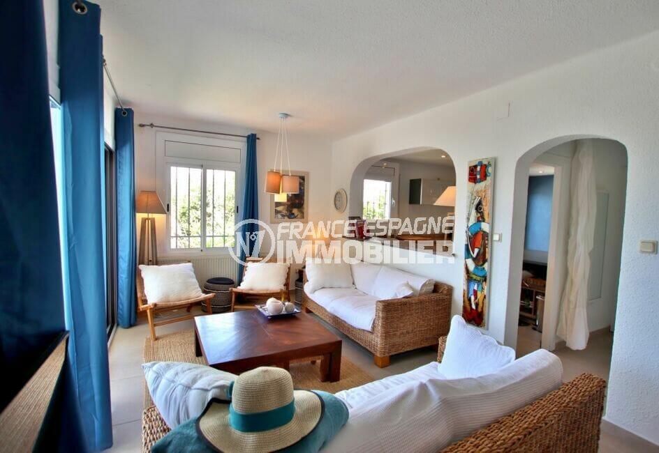 maison a vendre espagne, 300 m², salon / séjour avec cuisine ouverte