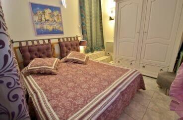 vente immobiliere rosas: villa 3 pièces 92 m², chambre à coucher, applique murale