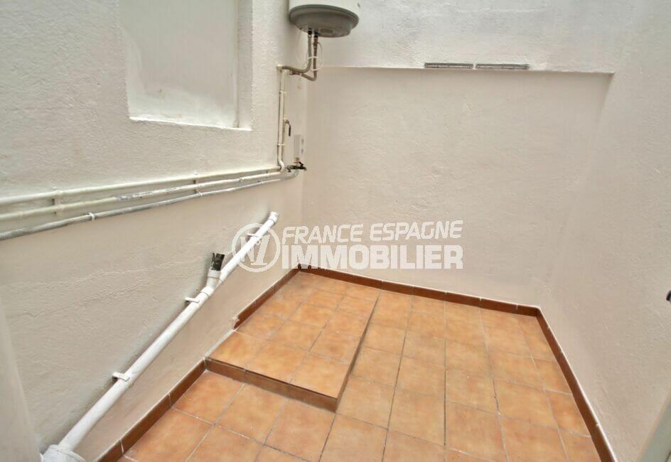 achat appartement espagne costa brava, 3 pièces 66 m² avec buanderie