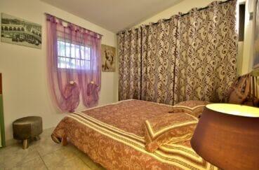 vente immobilière rosas: villa 3 pièces 92 m², 1° chambre à coucher, lit double