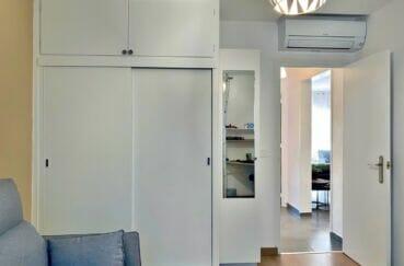 immocenter empuriabrava: appartement 3 pièces 86 m², chambre à coucher avec climatisation