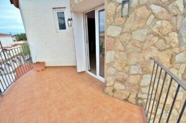 achat maison espagne costa brava,  5 pièces 265 m², chambre parentale avec accès terrasse