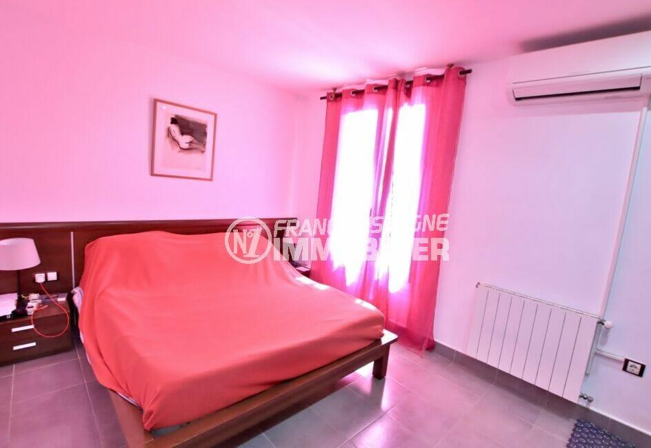 maison a vendre espagne, villa 109 m², chambre à coucher avec climatisation