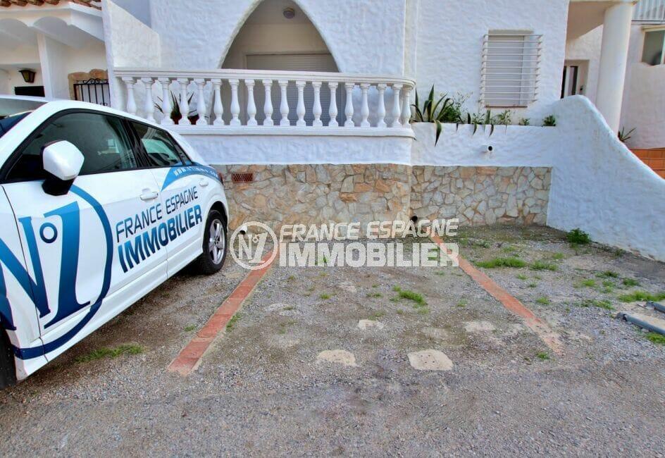 vente immobiliere costa brava: appartement 2 pièces 37 m², place de parking privé