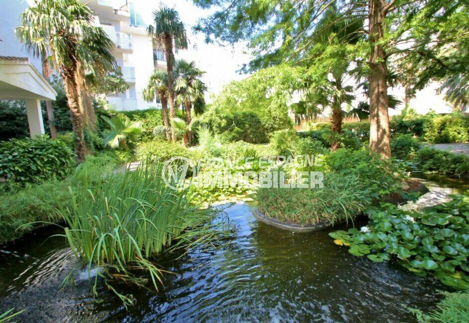achat appartement rosas, 2 pièces 48 m² dans résidence avec très joli jardin