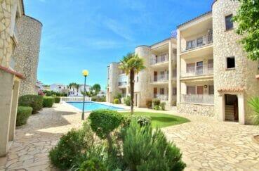 la costa brava: appartement 3 pièces 68 m², résidence avec piscine communautaire