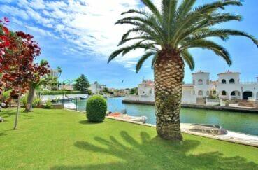 vente immobilière costa brava: appartement 3 pièces 68 m², terrasse avec vue canal