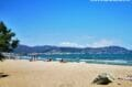 entre mer et montages, la plage ensoleillée de santa margarida