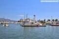 amarrage des bateaux au port de plaisance d'empuriabrava