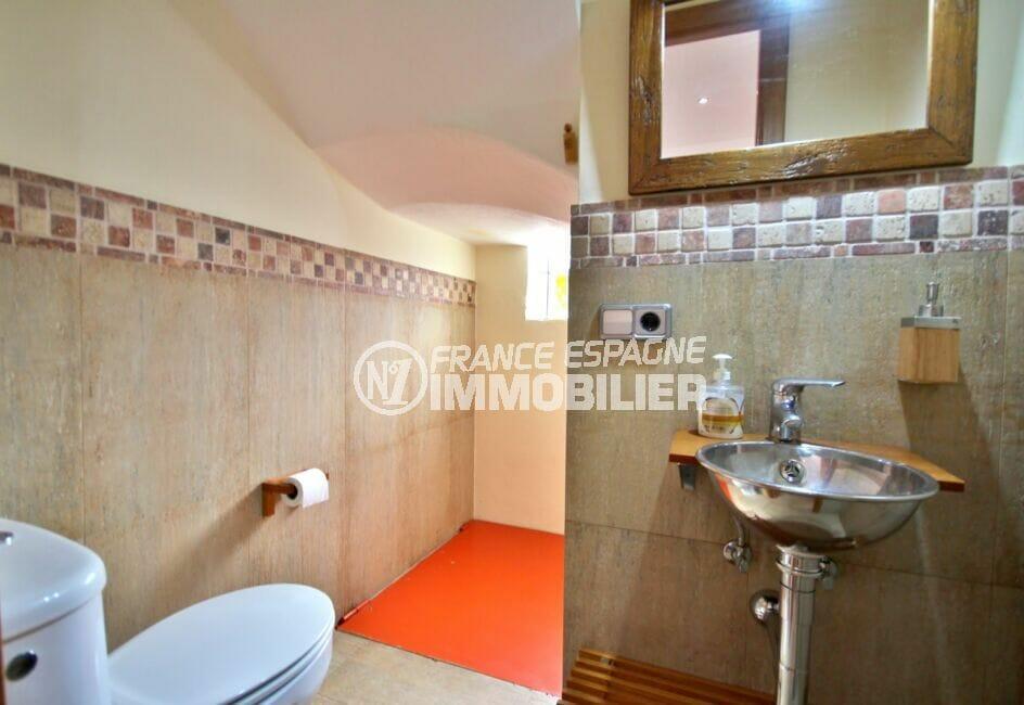 vente maison costa brava,  5 pièces 265 m², wc indépendant avec lavabo