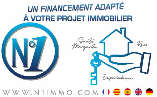 N°1 France Espagne vous aide à financer votre projet sur la Costa Brava