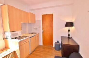 vente immobiliere costa brava: villa 300 m², petit coin cuisine avec four et plaques