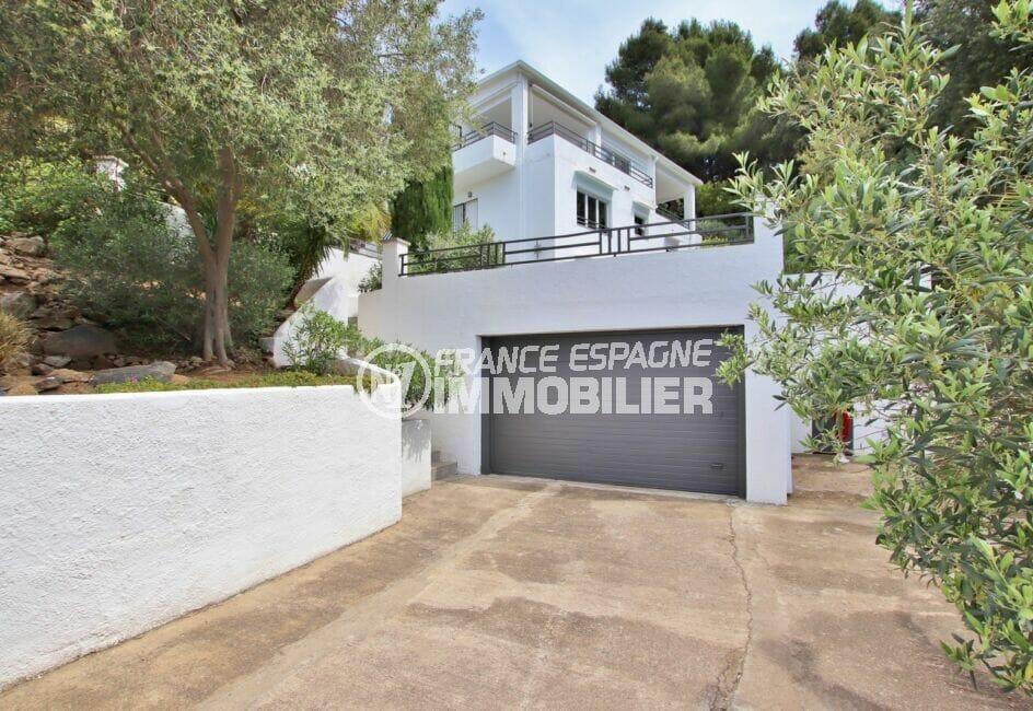 vente maison rosas espagne, 300 m², parking et cour intérieure x 3 voitures
