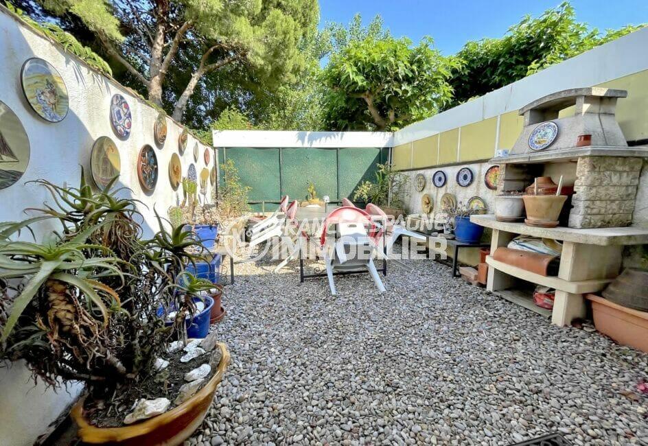 vente maison empuriabrava, 3 pièces 66 m² construite sur terrain de 102 m², 2 terrasses, parking, plage à 300 m