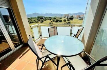 appartement a vendre a santa margarita, 3 pièces 64 m², terrasse vue montagne/mer/canal latérale, parking, piscine communautraire