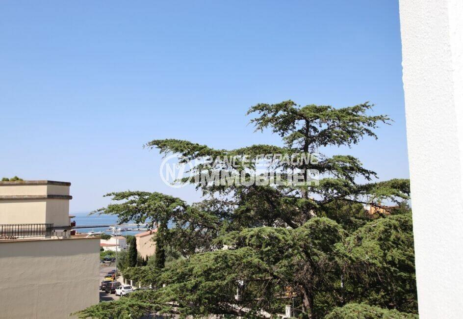 appartement a vendre costa brava, 5 pièces 95 m², terrasse avec petite vue sur la mer